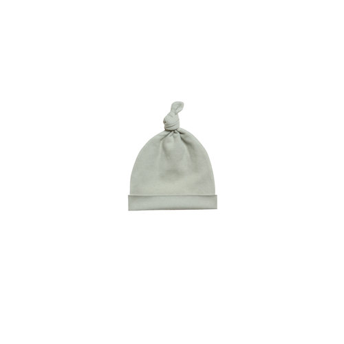 Quincy Mae Knotted Baby Hat sage