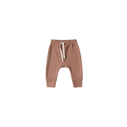 Quincy Mae Drawstring Pant  clay