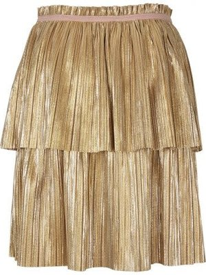 Enfant Champagne beige skirt