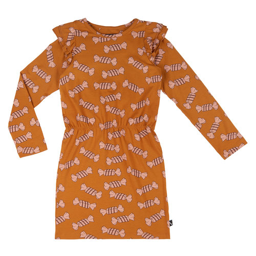 CarlijnQ Candy - blouson dress with rufles