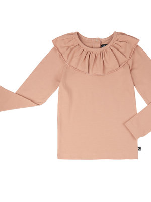CarlijnQ Longseeve with big collar roze