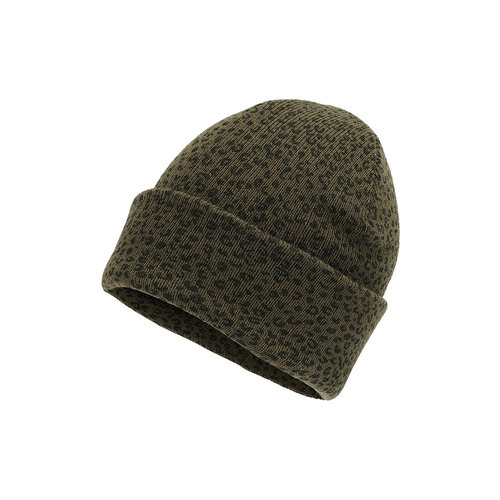Soft Gallery Gazz hat leopspot green