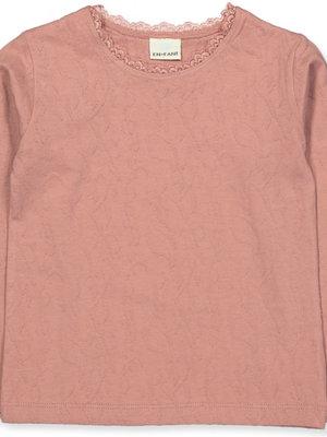 Enfant 91046 - Top met kant ash rose