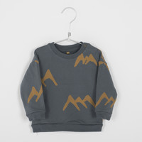 Baby sweater moutains dak grey bb-48