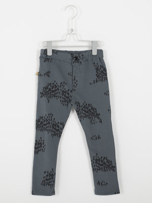 5 pockets brushed fleece dark grey forest 01-32