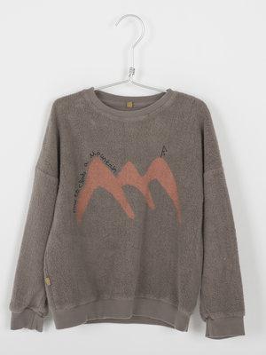 Teddy sweatshirt 51-16 washed taupe