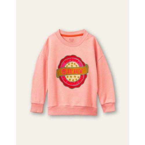 oilily Heritage sweater mauve