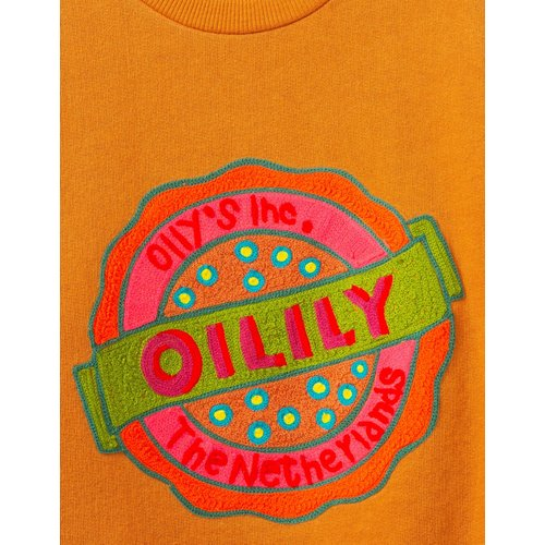oilily Heritage sweater pumpkin