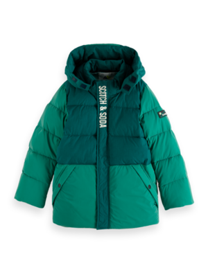 Scotch & Soda Winterjas reflective jacket 157608