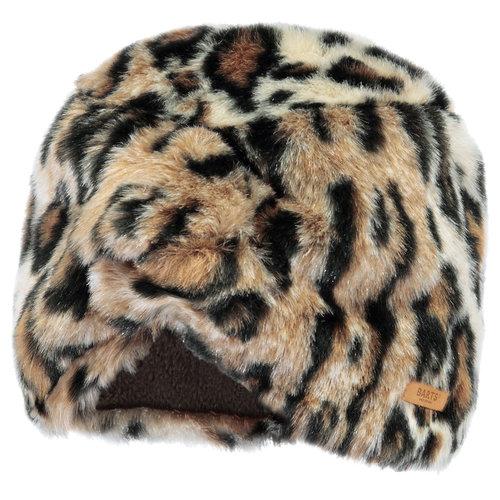 Barts Aster Turban  muts leopard one size