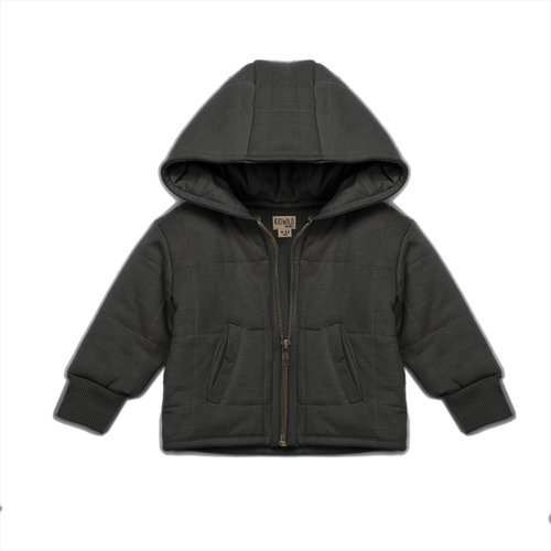 KidWild Organic quilted jacket Storm