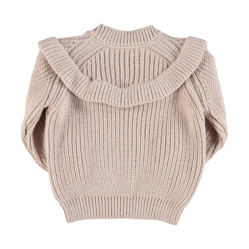 piupiuchick Knitted sweater with frills