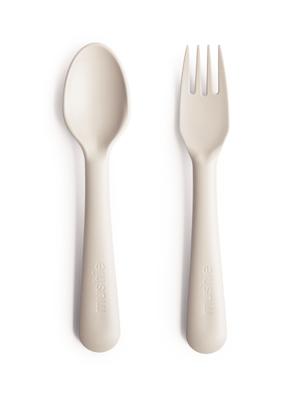 mushie Bestek fork spoon ivory