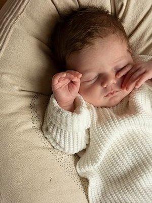 Nanami Baby knit rib top
