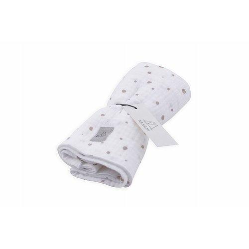 Nanami Diaper off white naturel dot