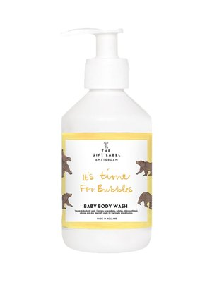 The gift label Baby Body Wash 250ml - It is time for bubbles