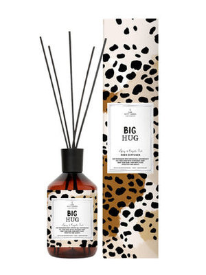The gift label Reed diffuser - Spicy and royal oud - Big hug