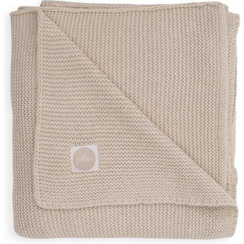 Jollein Wiegdeken 75x100cm Basic knit nougat