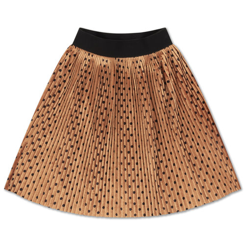 Repose AMS Plisse skirt all over dot