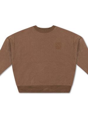 Repose AMS Crewneck sweater chocolate brown