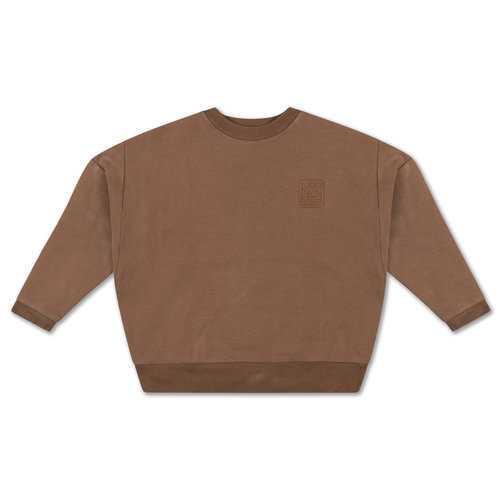 Repose AMS Crewneck sweater chocolate brown