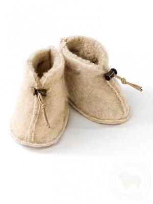 Alwero Babyslofjes beige
