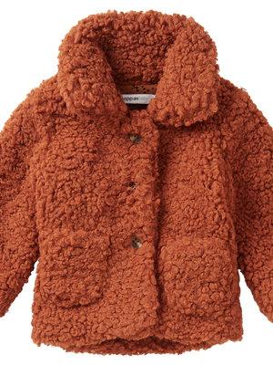noppies Teddy coat lulekani rust