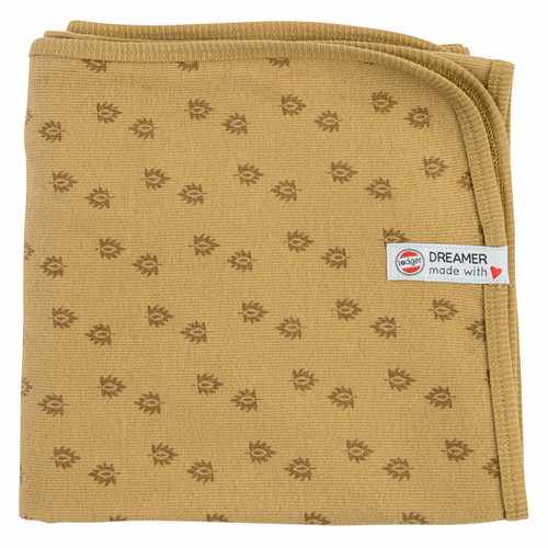 Lodger Dreamer Newborn Wrapblanket 100x100cm - Honey
