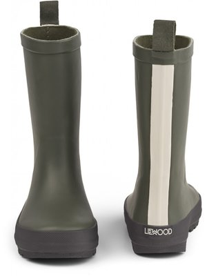 Liewood River rainboot  hunter/black mix