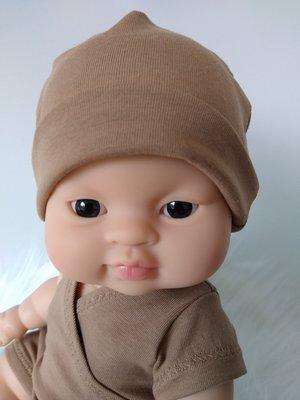 Kiaora - doll design Beanie camel