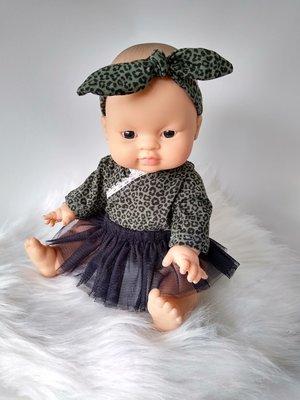 Kiaora - doll design Tutu zwart