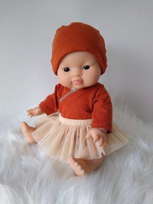 Kiaora - doll design Tutu champagne