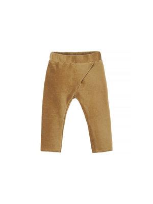 Nanami Ribvelvet pants sand