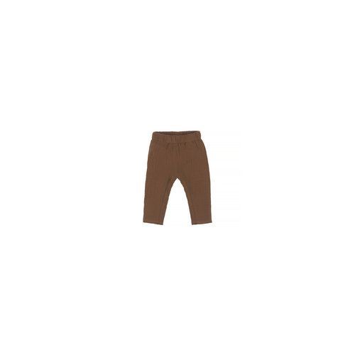 Nanami Mouselin pants brown