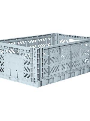 Folding Crate Maxi pale blue