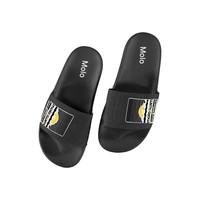 Zhappy black slippers