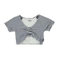 Nelly navy stripe top