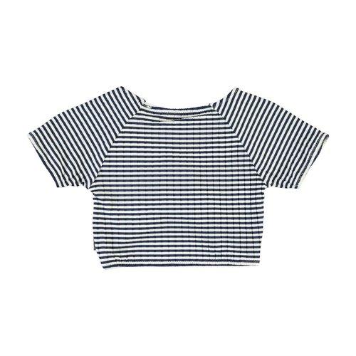 Molo Nelly navy stripe top
