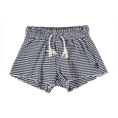 Molo Nicci navy stripe broekje