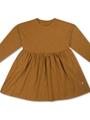 Repose AMS Simple dress khaki brown