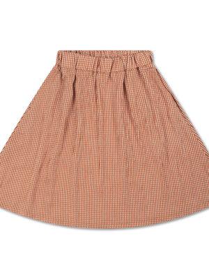 Repose AMS Midi skirt copper check
