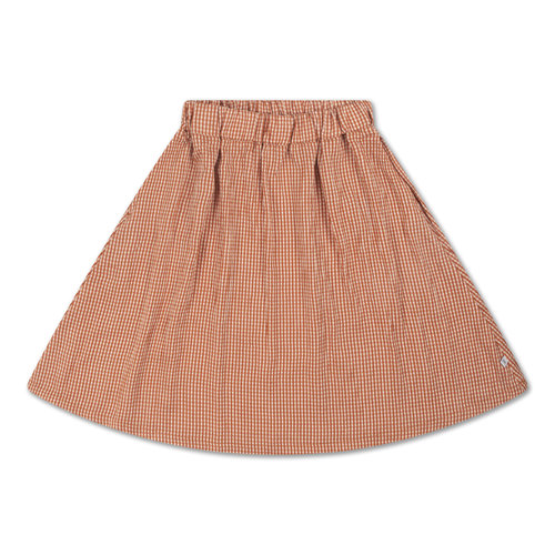 Repose AMS Midi skirt copper check