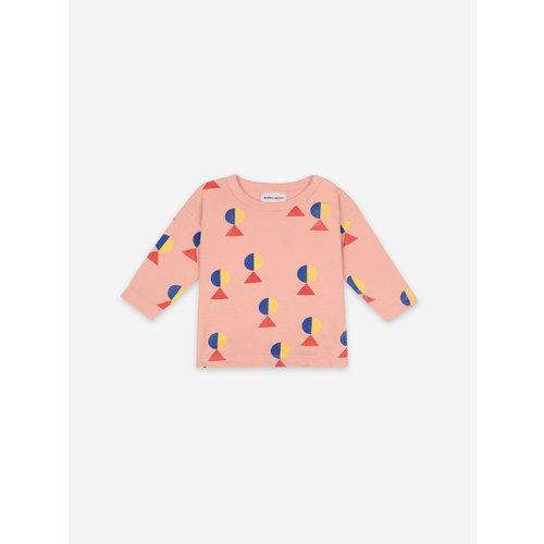 Bobo choses Geometric All over Long Sleeve T-shirt 121AB014