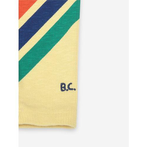 Bobo choses Crosswise Stripes Leggings 121AB059