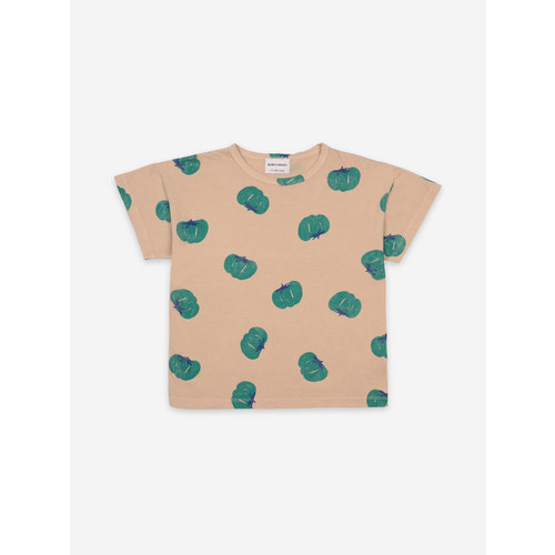 Bobo choses Tomatoes All Over Short Sleeve T-Shirt 121AC011