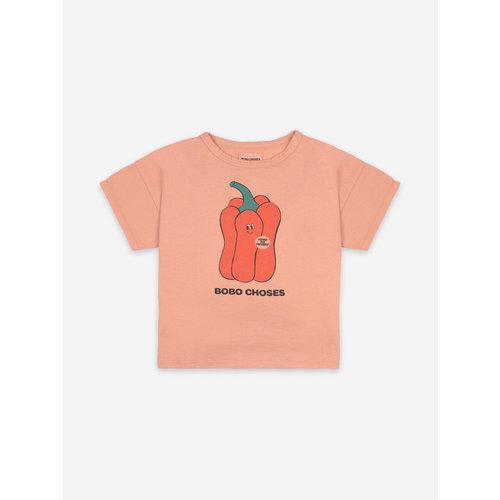 Bobo choses Vote For Pepper Short Sleeve T-Shirt 121AC004