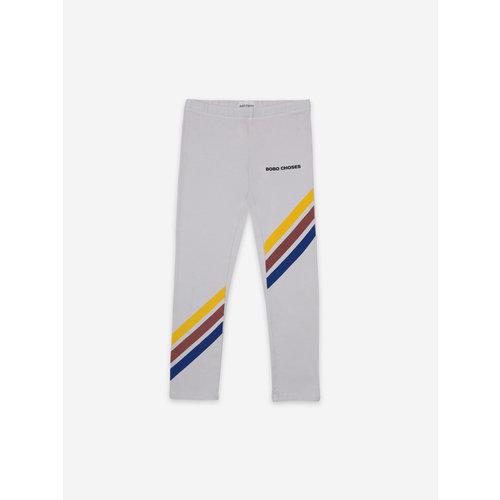 Bobo choses Crosswise Stripes Grey Leggings 121AC049