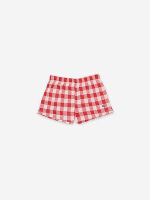 Bobo choses Vichy Jersey Shorts 121AC064