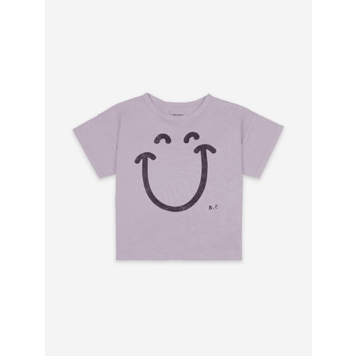 Bobo choses Big Smile Lilas Short Sleeve T-shirt 121AC156