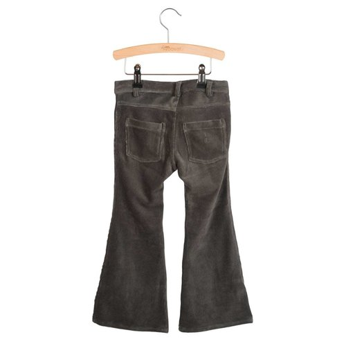 Little Hedonist Bay flared pants pirate black